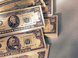обои Пачки денег фото