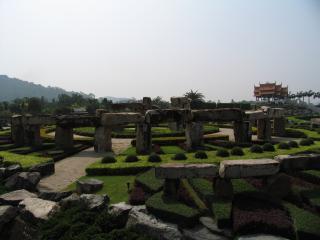обои Парк Паттайи камни фото