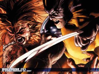 обои Wolverine comics фото
