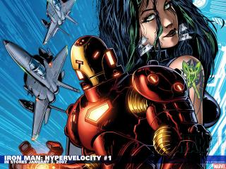 обои Iron Man Comics фото