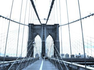 обои Дорожка на мосту фото