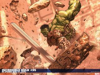 обои Incredhulk comic фото