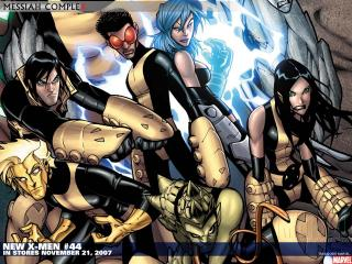 обои Comic New x-men фото