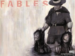 обои Fables comic держит головы фото