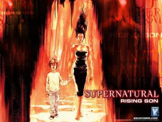 обои Supernatural comics фото