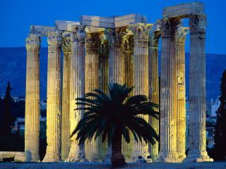 обои Древние колонны фото