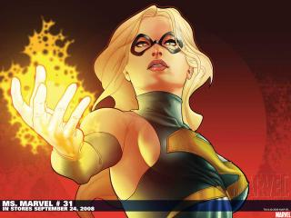 обои MS.MARVEL comic фото