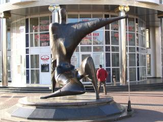 обои Современная скульптура - Киев фото