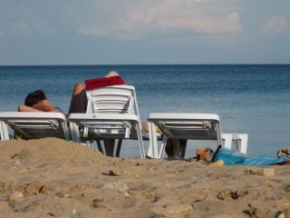 обои Пляж в Евпатории фото
