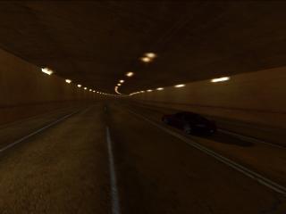 обои Porshce в тоннеле фото