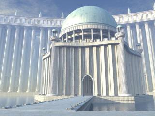 обои Дворец Богов фото