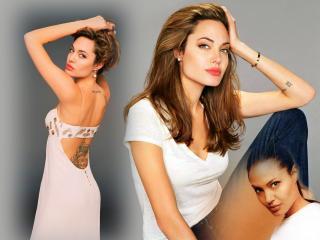 обои для рабочего стола: Angelina Jolie 2010