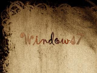 обои Windows 7 На Бумаге фото