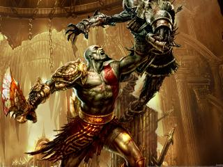 обои God of war 3 the game фото