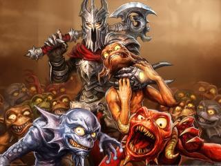 обои Overlord dark legend фото