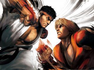 обои Street fighter 4 the game фото