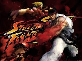 обои Street fighter фото