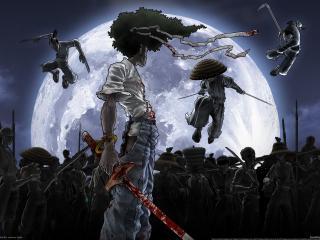 обои Игра afro samurai фото
