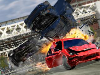 обои Burnout 3 takedown фото