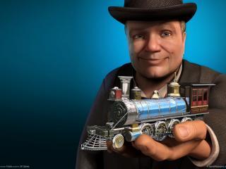 обои Sid meiers railroads фото