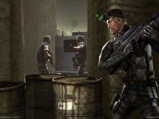 обои Game splinter cell за углом фото