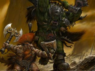 обои Warhammer online age of reckoning the game фото