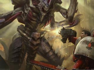 обои Warhammer 40,  000 dawn of war ii фото