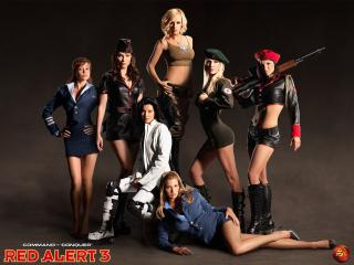 обои Girls from RED ALERT 3 фото