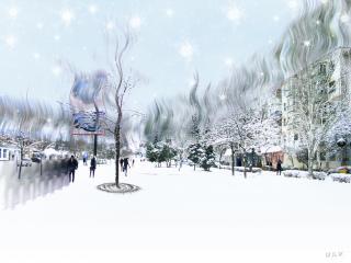 обои Крымская Зимой фото