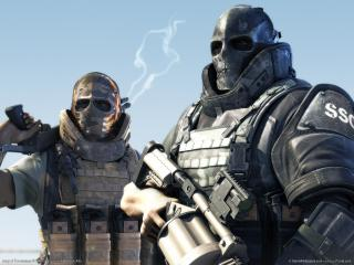обои Wallpaper army of two 01 фото