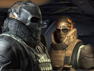 обои Wallpaper army of two фото
