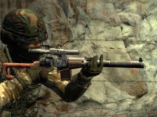 обои Counter Strike снайпер фото