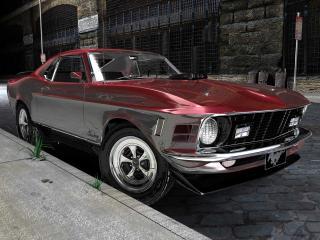 обои Ford Mustang Mach Super CobraJet фото