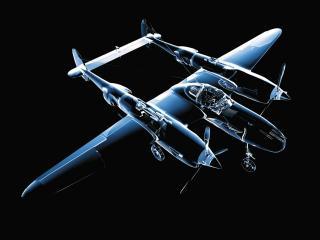 обои Crystal Airplane Model фото
