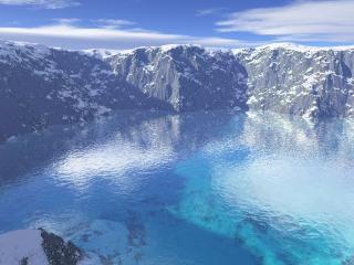 обои Glacier Lake фото
