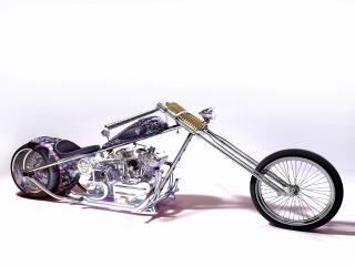 обои Skull Bike Chopper Concept фото