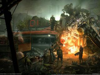 обои Game Resistance фото