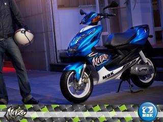 обои Blue MBK Nitro фото