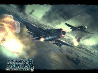 обои Blazing Angels 2: Secret Missions of WWII фото