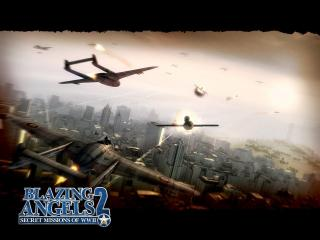 обои Blazing Angels 2: Secret Missions of WWII фото