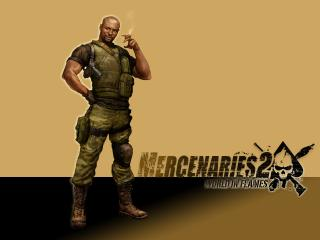 обои Mercenaries 2: World in Flames фото