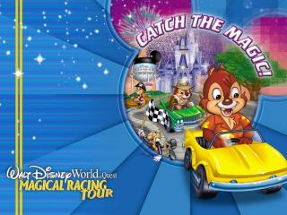 обои Disney Magical Racing Tour фото