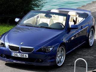 обои BMW B6 видпод другим углом фото