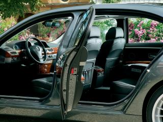 обои BMW B7 вид изнутри фото