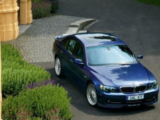 обои BMW B7 вид наискосок фото