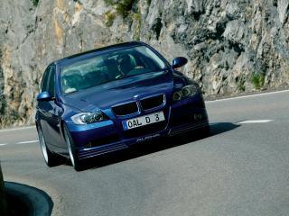 обои BMW D3 вид в полете скорости фото