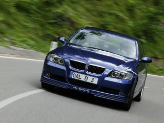 обои BMW D3 вид в пути фото