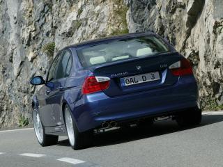 обои BMW D3 вид сзади фото