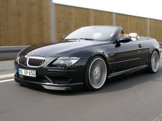обои BMW G POWER M6 вид в движении фото