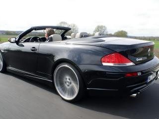 обои BMW G POWER M6 вид со стороны фары фото